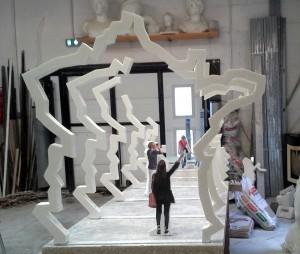 maquette des arches