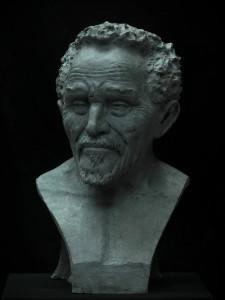 Buste de Pierre Rabhi