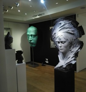 Exposition- galerie 713 - Knokke ( Belgique)