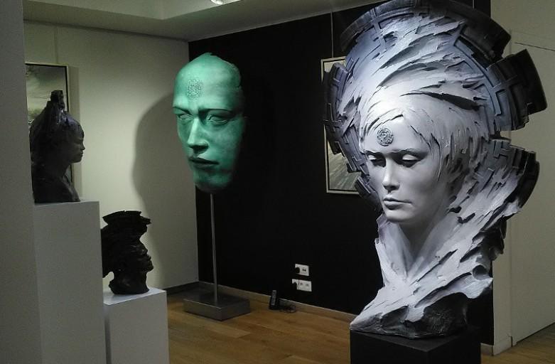 sculpture exposition art galerie berthaud contemporain 2017