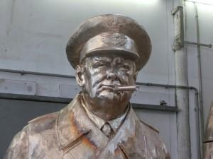 Buste de Winston Churchill
