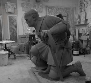Bertrand DU GUESCLIN / Sculpture monumentale