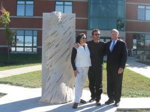 """Inauguration de la sculpture """"Le passage"""""""