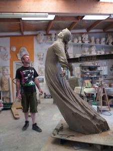Camille CLAUDEL -sculpture en argile