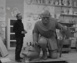 Du-Guesclin-statue-bronze