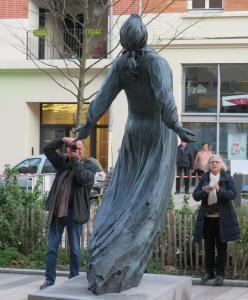 Statue de Camille CLAUDEL en bronze